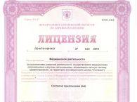 Подробнее: Лицензия здравоохранения